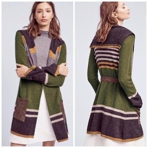 Anthropologie Angel of the North cardigan sweater